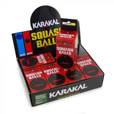 Karakal Red Dot Squash Balls 1
