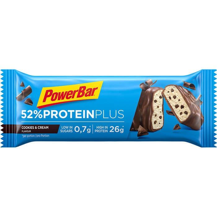 PowerBar 52 Protein Plus Cookies Cream 50g 700x700px RGB