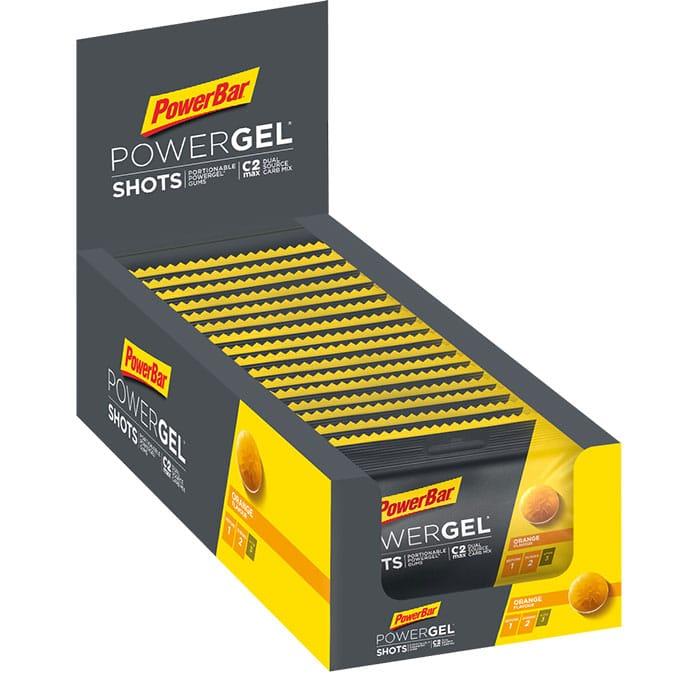 PowerBar PowerGel Shots Secondary Packshot Orange 700px