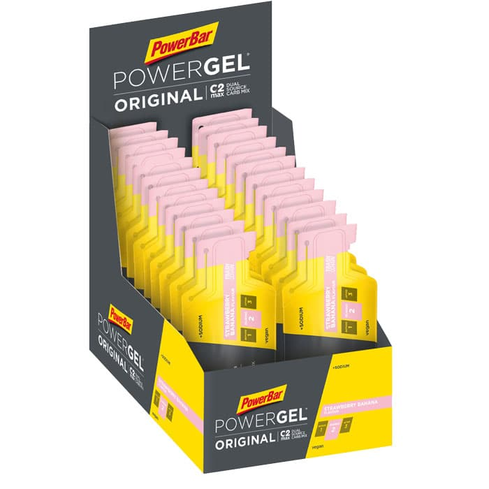 PowerBar  PowerGel Original  Secondary  Strawberry Banana  700