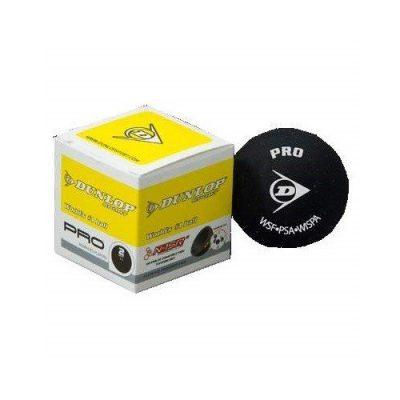 Dunlop Competition Squash Ball 1 Ball duble Yellow Dot