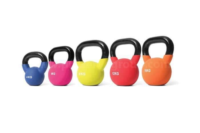 kettlebell neoprene weights