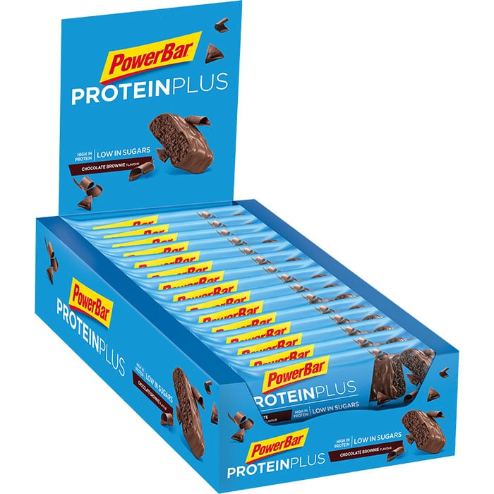 PowerBar  ProteinPlus  Tray  Chocolate Brownie  700
