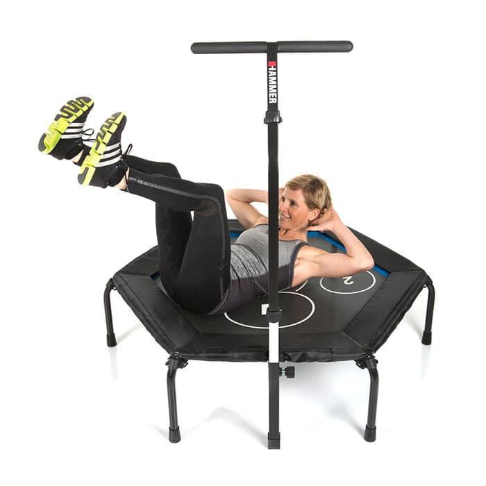 66426 hammer fitness trampolin cross jump 05