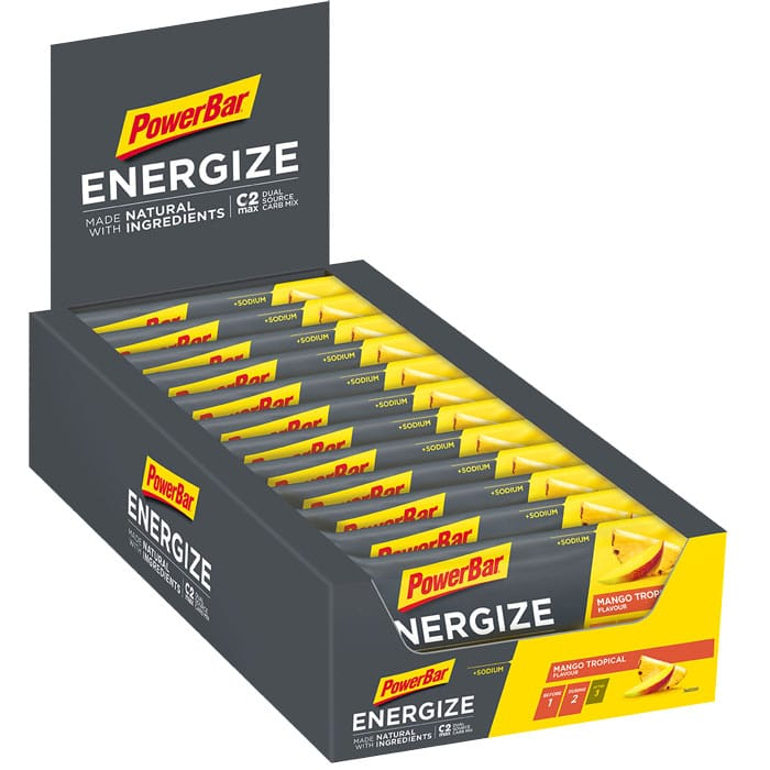 PowerBar  Energize  made with  Tray  Mango Tropical  700
