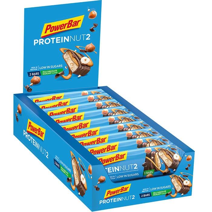 PowerBar  Protein Nut2  Tray  Milk Chocolate Hazelnut  700