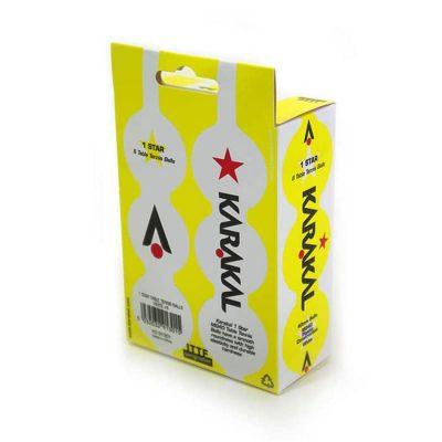 karakal 1 star table tennis balls kd91301 3 700
