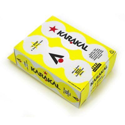 karakal 1 star table tennis balls kd91301 700