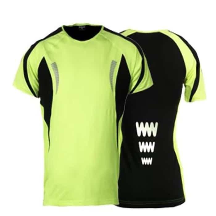 wowow dark shirt 1.0 fluorgeel reflecterend dames 3 700