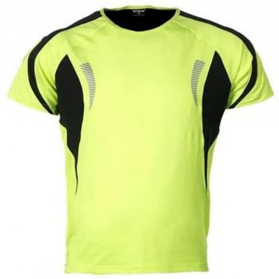 wowow dark shirt 1.0 heren fluorgeel reflecterend 700
