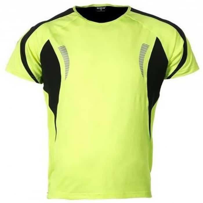 wowow dark shirt 1.0 heren fluorgeel reflecterend 700