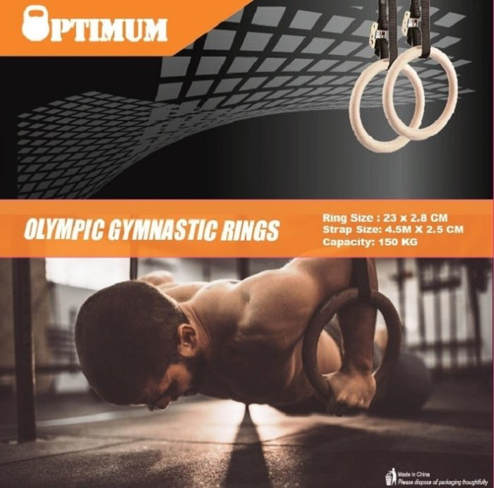 Κρίκοι Cross Fit Optimum 2