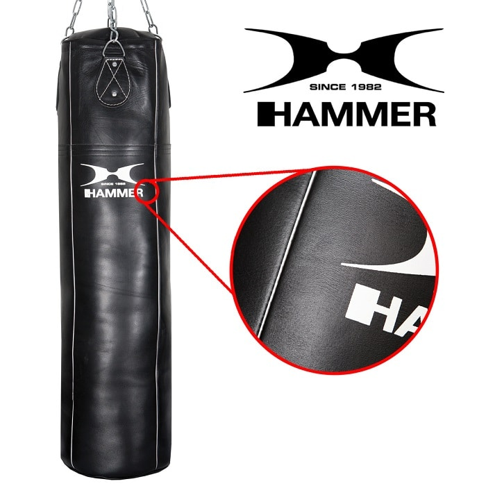 92710 hammer boxing lederboxsack boxen boxsack premium rindsleder professional 02