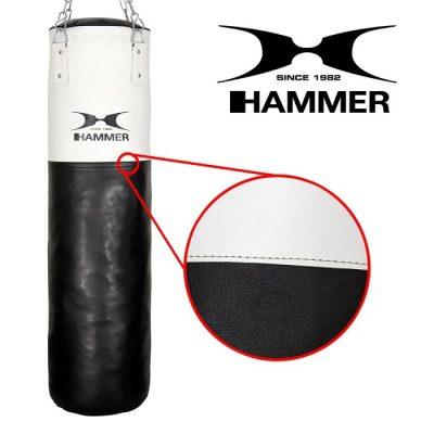 93110 93120 93150 hammer boxing boxen boxsack kunsteleder premium white kick 02