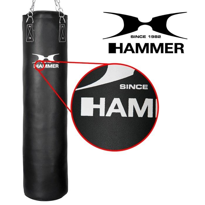 93209 93212 93215 93218 hammer boxing boxen boxsack kunsteleder premium black kick 02