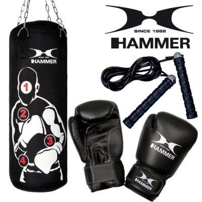 92013 hammer boxing boxen σακος γάντια box set sparring pro