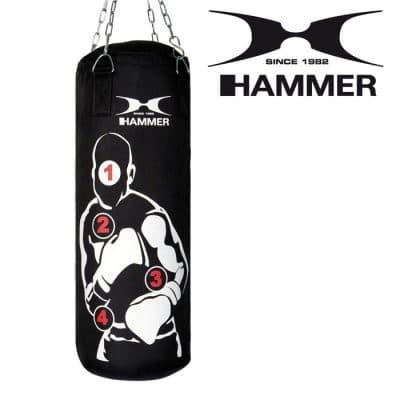 92013 hammer boxing boxen boxsack boxhandschuhe box set sparring pro 02