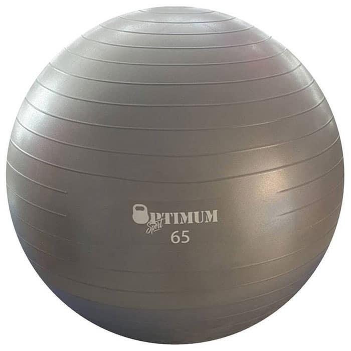 GYM BALL ANTI BURST 65 CM 1100GR ΓΚΡΙ 2 700