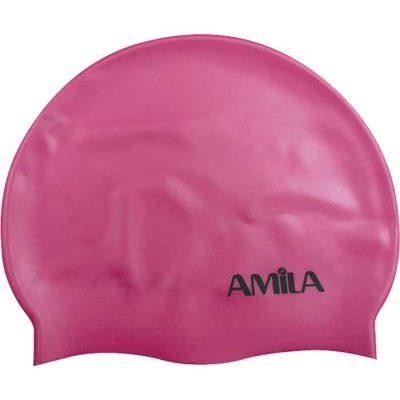 Σκουφάκια πισίνας παιδικά Ροζ 1Α