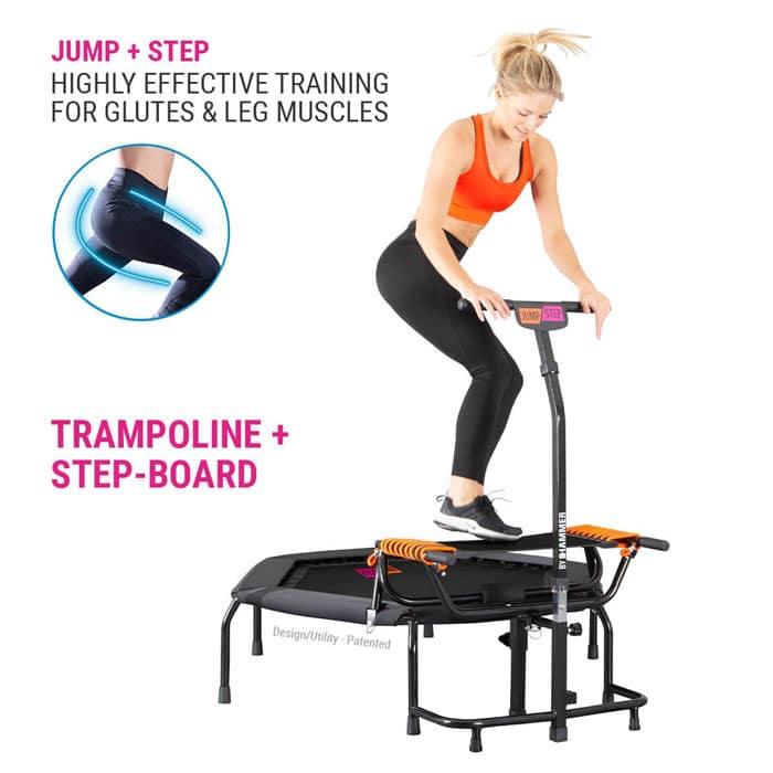 Fitness trampoline 2