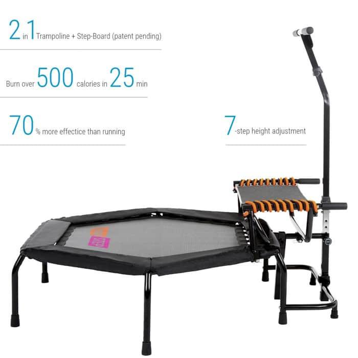 Fitness trampoline 3