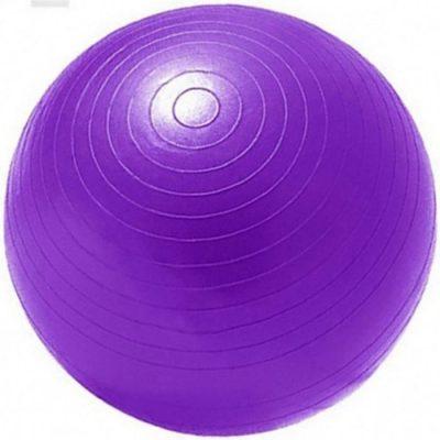 GYM BALL ANTI BURST 55 CM 900GR ΜΟΒ 3A