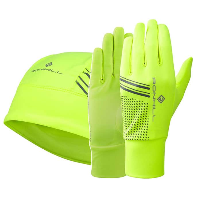 RONHILL BEANIE AND GLOVE SET 1A