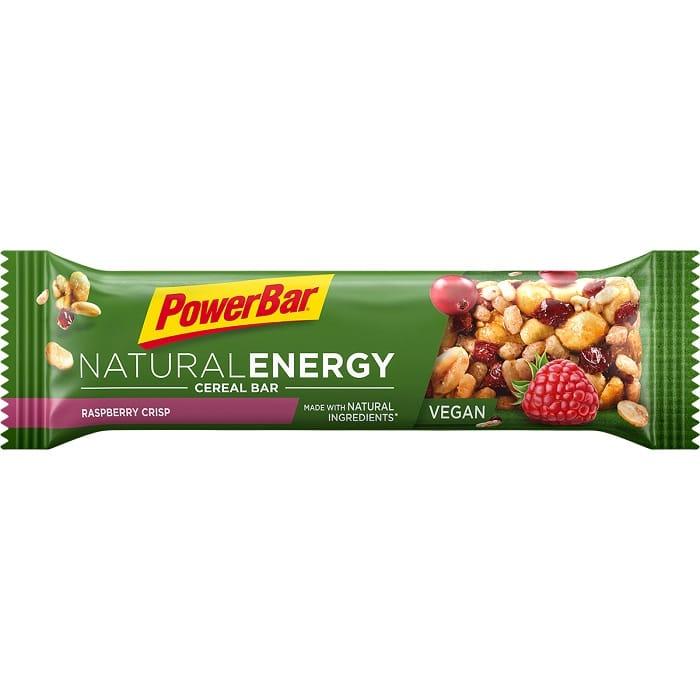 PowerBar Natural Energy Cereal Raspberry Crisp 40g 1200x1200px RGB
