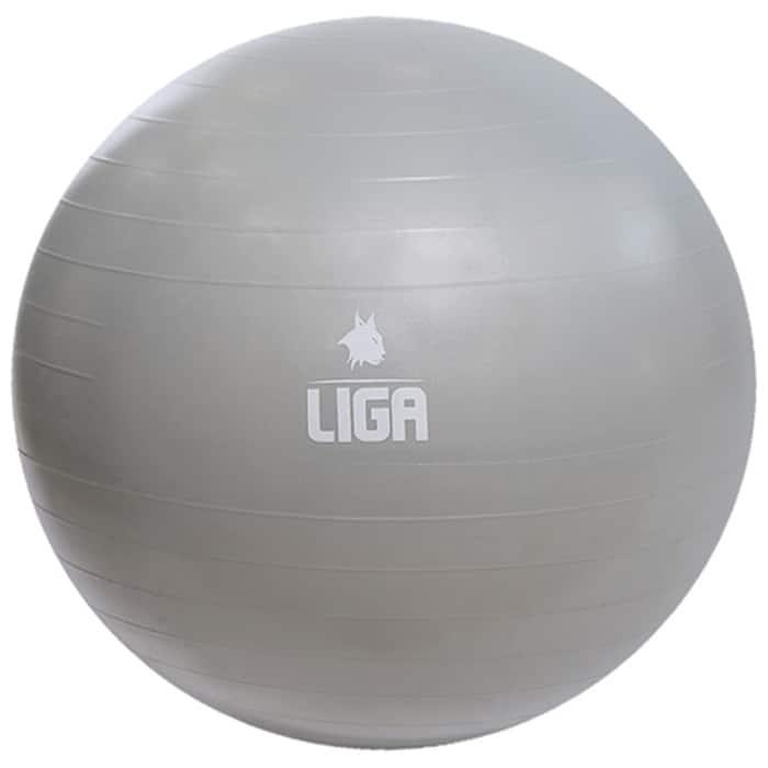 Μπάλα γυμναστικής 65cm Gym Ball γκρι LIGASPORT2