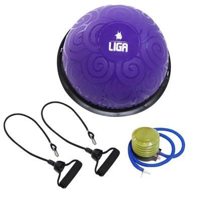 Μπάλα ισορροπίας με λάστιχα ΜΩΒ 46cm LIGASPORT 1 2