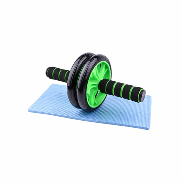 Roller κοιλιακών με μικρό στρώμα για τα γόνατα ΠΡΑΣΙΝΟ LIGASPORT 2